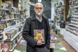 Daniel Clowes (Chicago, 1961), este martes en la librería Generación X de Madrid.