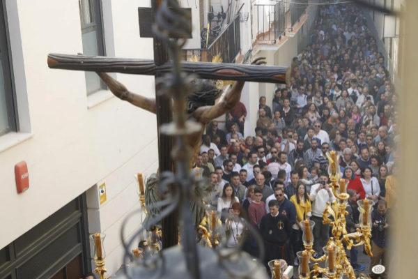 Imagen de la pasada Semana Santa en Málaga