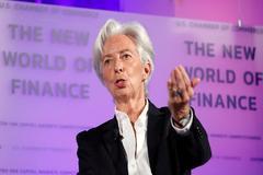 La directora del fondo monetario internacional, Christine Lagarde