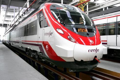 Trenes de cercanías Renfe