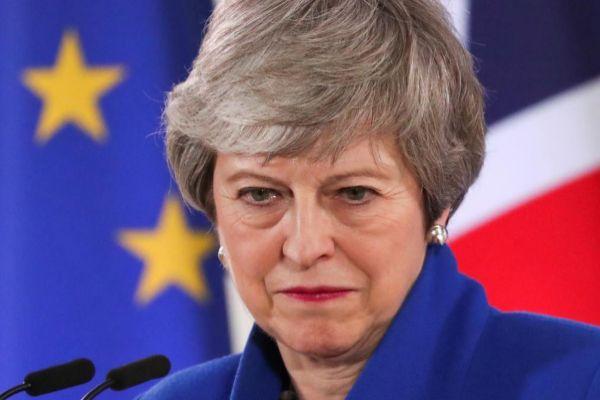 La 'premier' británica, Theresa May.