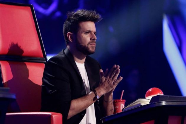 Pablo López estrenó Me conocen en exclusiva en la final de La Voz en Antena 3, en la noche en la que se convirtió en el 'coach' ganador junto a su 'talent', Andrés Martín