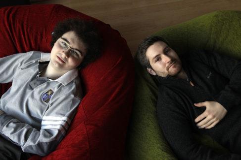 Jordi Tamargo (izq.) y David Martínez, quienes fueron dueños de la polémica web.