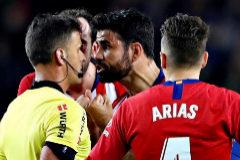 Diego Costa, sancionado con ocho partidos