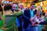 Santiago Abascal tira de tensión, épica y patriotismo