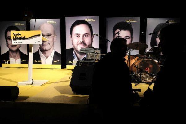 Jordi <HIT>Soteras</HIT> Catalunya Barcelona 11/04/2019 Primer acto de ERC en Sant Vicenç dels Horts Foto Jordi <HIT>Soteras</HIT>