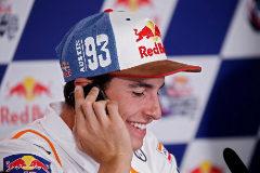 """Márquez y el saludo de Rossi: """"Es como el primer beso"""""""