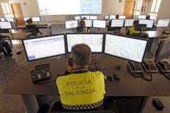 Central de la policía local de Valencia.