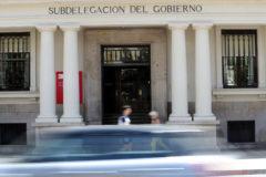 Fachada de la Subdelegación del Gobierno en Castellón en la plaza María Agustina.