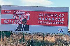 Donde el Falcon de Pedro Sánchez no llega...
