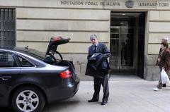 El diputado de Hacienda, José Luis Cimiano.