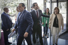 """Los empresarios valencianos piden a Casado """"rebajar el nivel de crispación política"""""""
