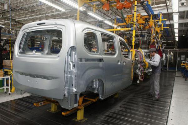 En la planta de PSA en Vigo trabajan 5.700 personas.