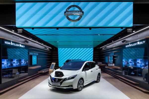 La nueva tienda de Nissan en Vélizy, a las afueras de París.