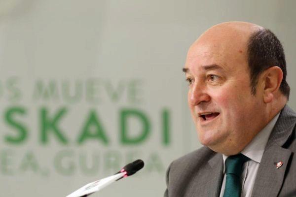 Andoni Ortuzar, presidente del PP.
