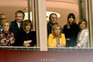 La familia Campos, en una imagen de archivo