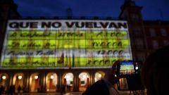 Sanción al Ayuntamiento y a Podemos por el vídeo de Bárcenas en la Plaza Mayor