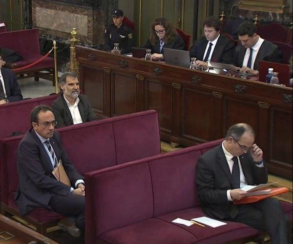 Turull y Rull en el banquillo de los acusados en el Tribunal Supremo