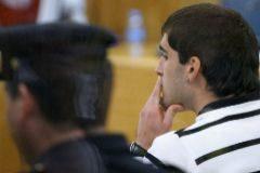 El etarra Gorka Lupiañez, en un juicio en la Audiencia Nacional.