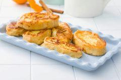 Recetas saludables con Thermomix: torrijas a la plancha (sin azúcar)