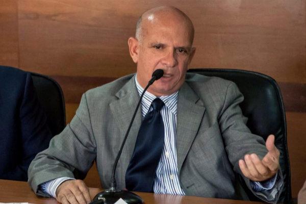 El exgeneral venezolano Hugo Carvajal, en 2016, en Madrid.