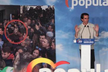 """Aznar: """"No permitiremos que los golpistas de ayer vuelvan a ser los golpistas de hoy"""""""