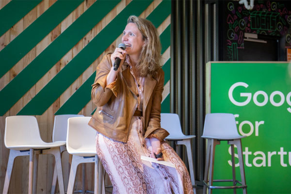La directora de Google for Startups Spain, Sofía Benjumea.