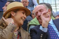 El Rey Juan Carlos, en Illescas junto a la Infanta Elena