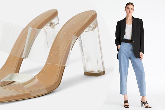 Sandalias Se Zara Las Tiene Transparentes Que Comprarían Kim TFulK1Jc3