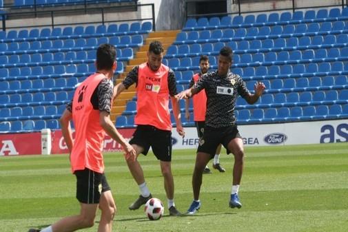 Último entrenamiento del Hércules CF.