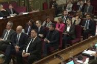 Los líderes independentistas, juzgados por el 1-O en el Supremo