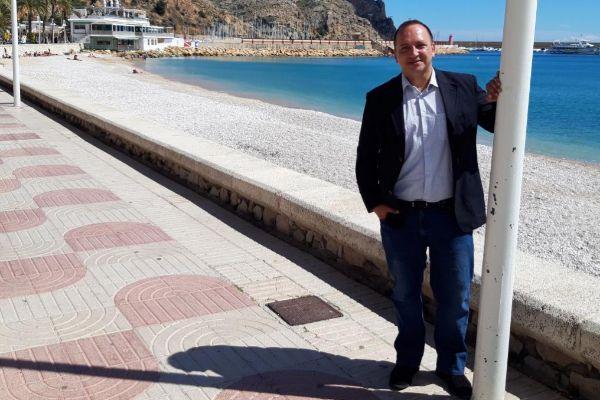 Rubén Martínez Dalmau, candidato de Podemos a la Presidencia de la Generalitat.