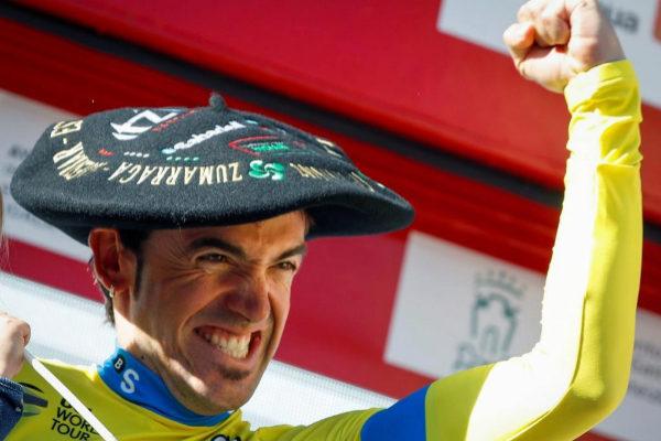 Ion Izagirre, ganador de la Vuelta al País Vasco.