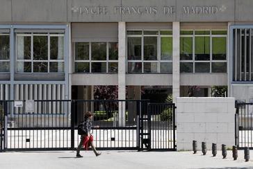 Fachada del Liceo Francés, situado en Conde Orgaz.