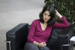 Isabel Serra, candidata de Unidas Podemos IU Madrid en Pie.