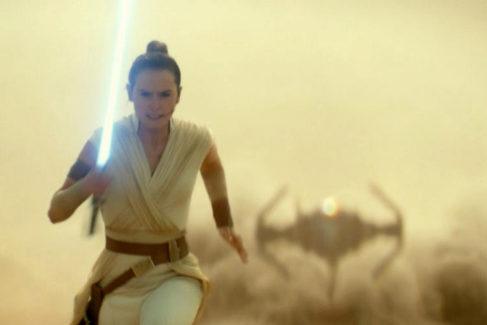 Daisy Ridley en el papel de Rey, en el Episodio IX: The Rise Of Skywalker'.