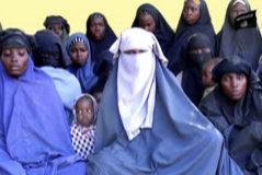 Algunas de las niñas que aún permanecen secuestradas por Boko Haram.