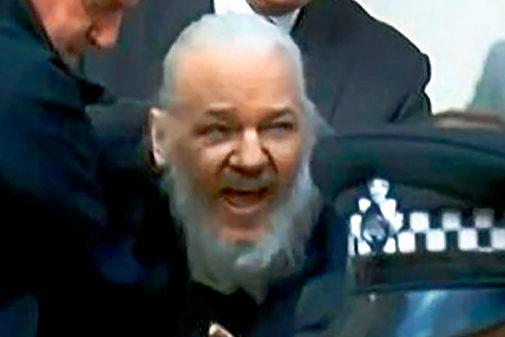 Julian Assange fue detenido por la policía británica el pasado jueves.