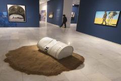 Algunas de las obras de Jorge Ballester que forman parte de la exposición en la Fundación Bancaja.