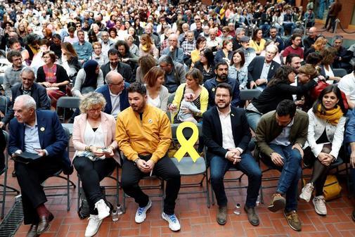 Acto central de campaña de ERC en Barcelona