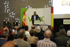 Ortega Smith define Castellón como resistencia ante el fenómeno del pancatanalismo