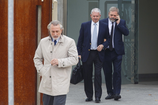 Francisco Correa y Pablo Crespo salen de la Audiencia Nacional