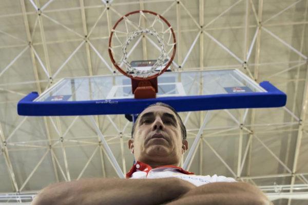 El seleccionador nacional Sergio Scariolo