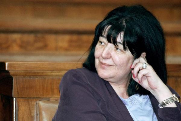 Mirjana Markovic, viuda del ex líder serbio Slobodan Milosev.