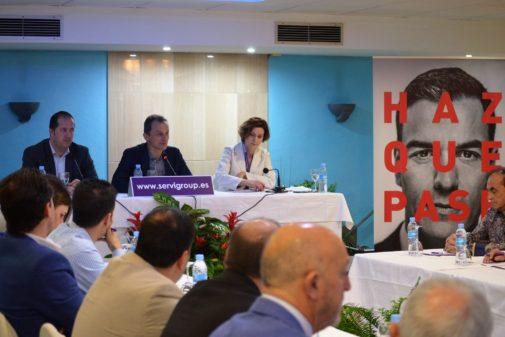 """El PSOE a los hoteleros: """"En ningún caso implantaremos la tasa turística"""""""