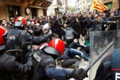 Radicales intentan boicotear un acto de Cs en Errenteria.