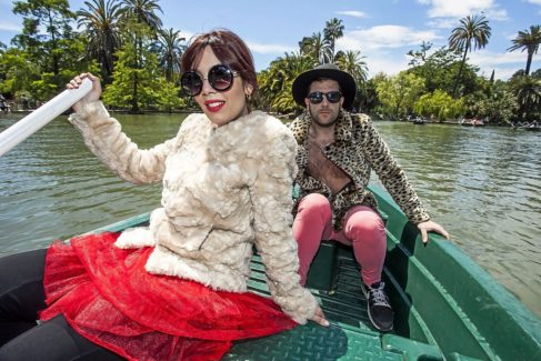 Tania Lozano y Victor F. Clares, los dos componentes de Ladilla Rusa.