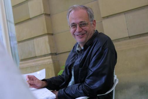 Diego Galán, durante su etapa como director del Festival