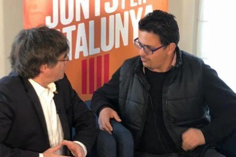 """El """"espía dormido"""" de Marruecos en las listas de Puigdemont"""