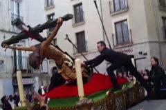 El Cristo de las Gotas, una procesión accidentada